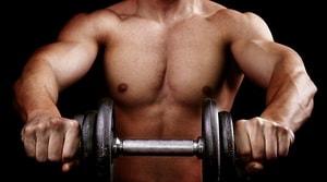 набор мышц с глютамином