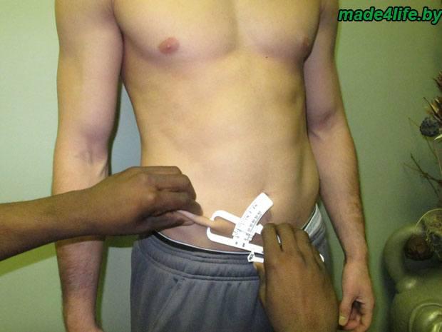 как измерить процент жира