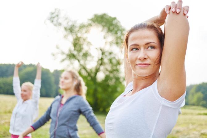 Стретчинг-упражнения для рук