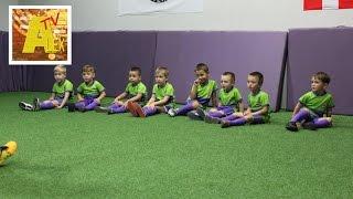 Футбол для детей. Идем на тренировку по футболу!
