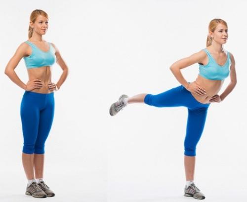 Упражнения для пресса, ног, ягодиц для девушек в домашних условиях. Программа тренировок, таблица