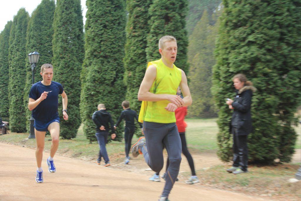 Тренировка по бегу