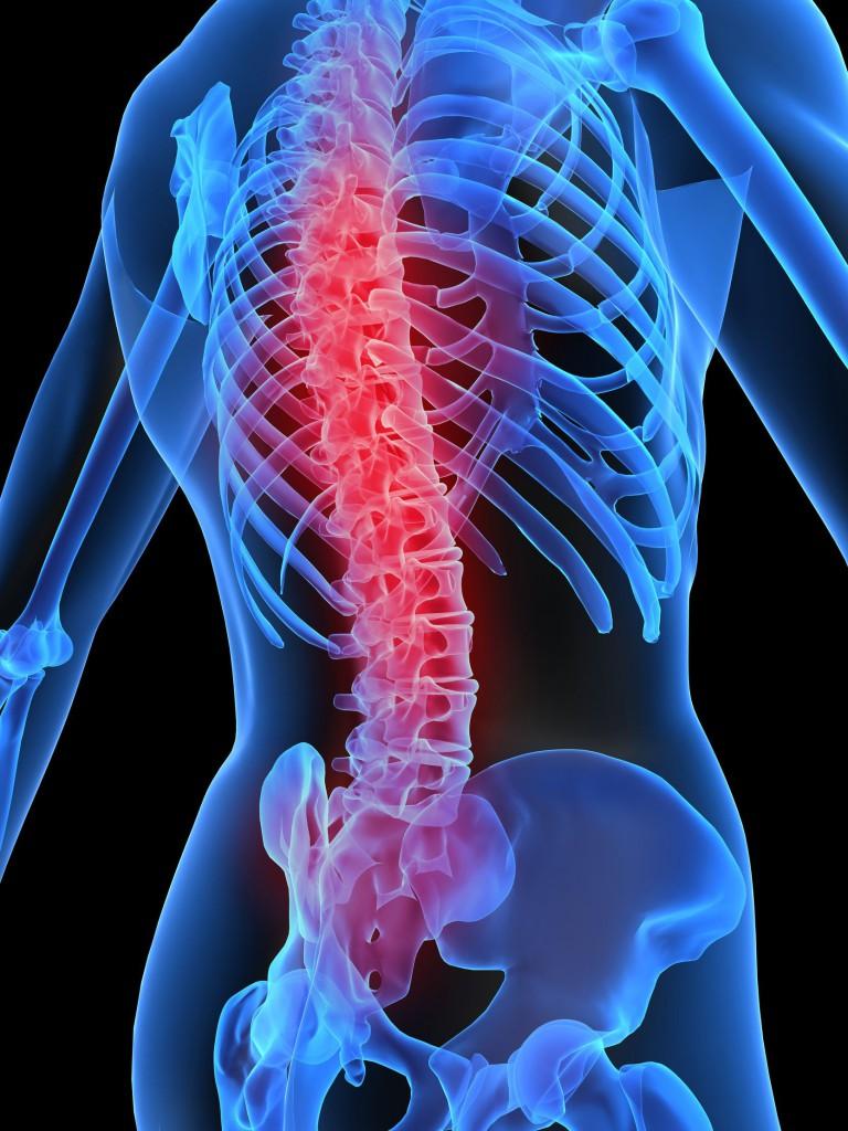 Bolit spina posle trenazhernogo zala