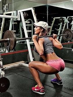 1. Тренировка ног не любит работы в пол силы