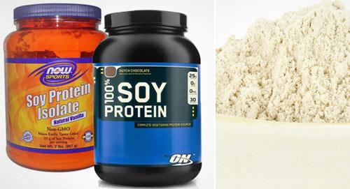 Соевый протеин – один из вариантов пищевых спортивных добавок