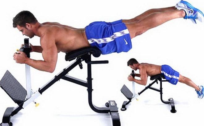 техника выполнения упражнения обратная гиперэкстензия