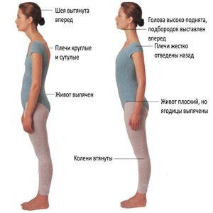 Как важно иметь прямую спину