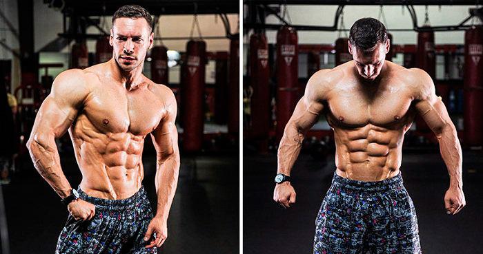 широкие плечи: упражнения и тренировки