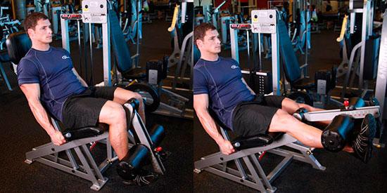 тренировка ног - приседания