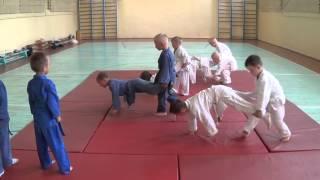 Тренировка по дзюдо: дети 5 - 6 лет. Часть - 1. Centre Judo Kids. Feodosiya