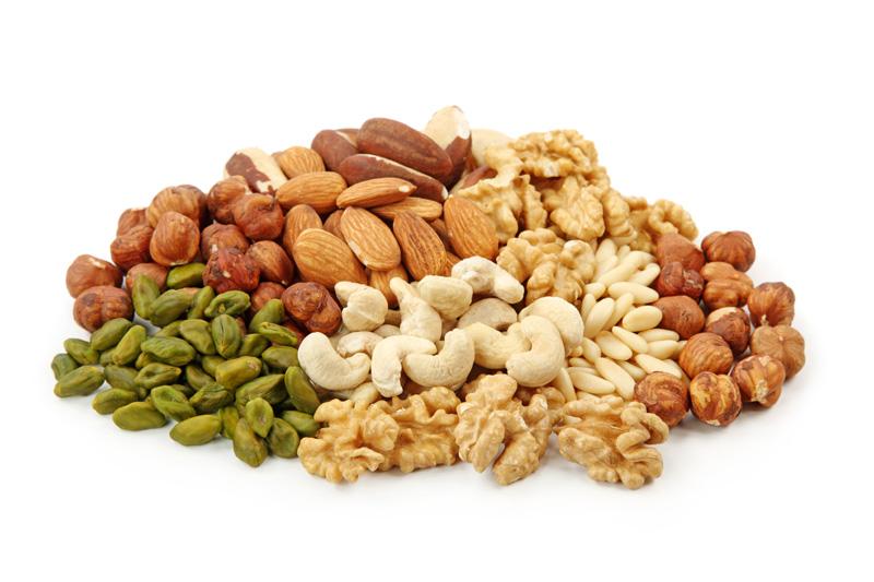 Орехи: очень хороший, богатый калориями источник пищи