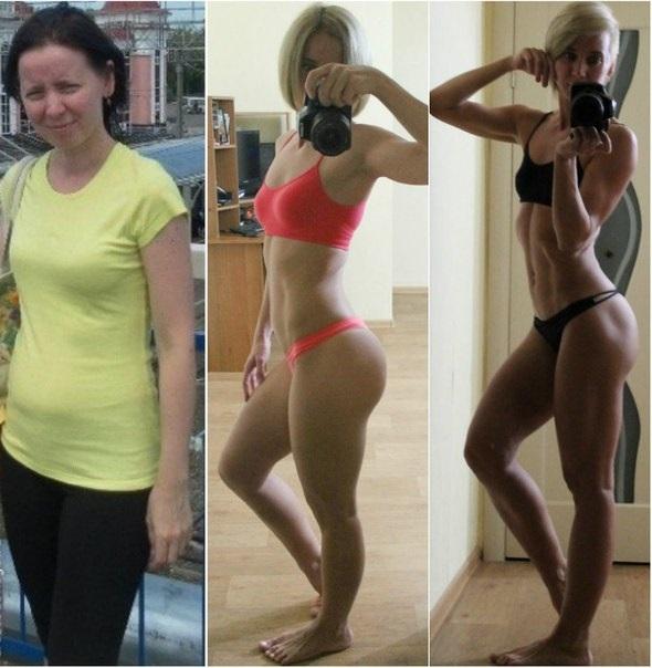 сушка тела для девушек фото до и после