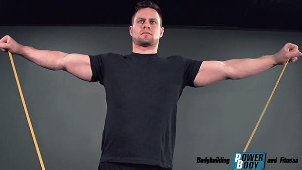 Banded-Lateral-Raise. Тренировка дельтовидных мышц
