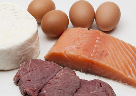 нежирный белок