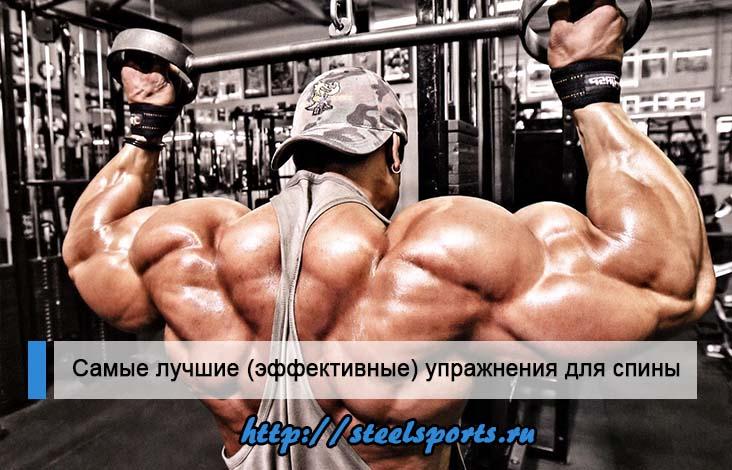 Лучшие упражнения для спины