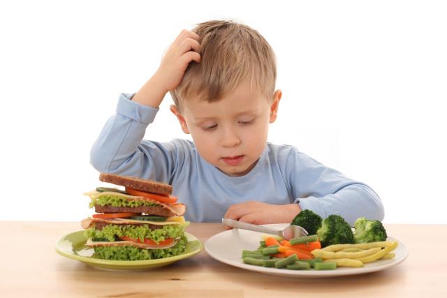 Меню диеты для детей