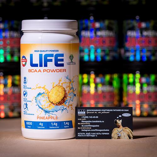 Tree of Life Life BCAA Powder 400 гр
