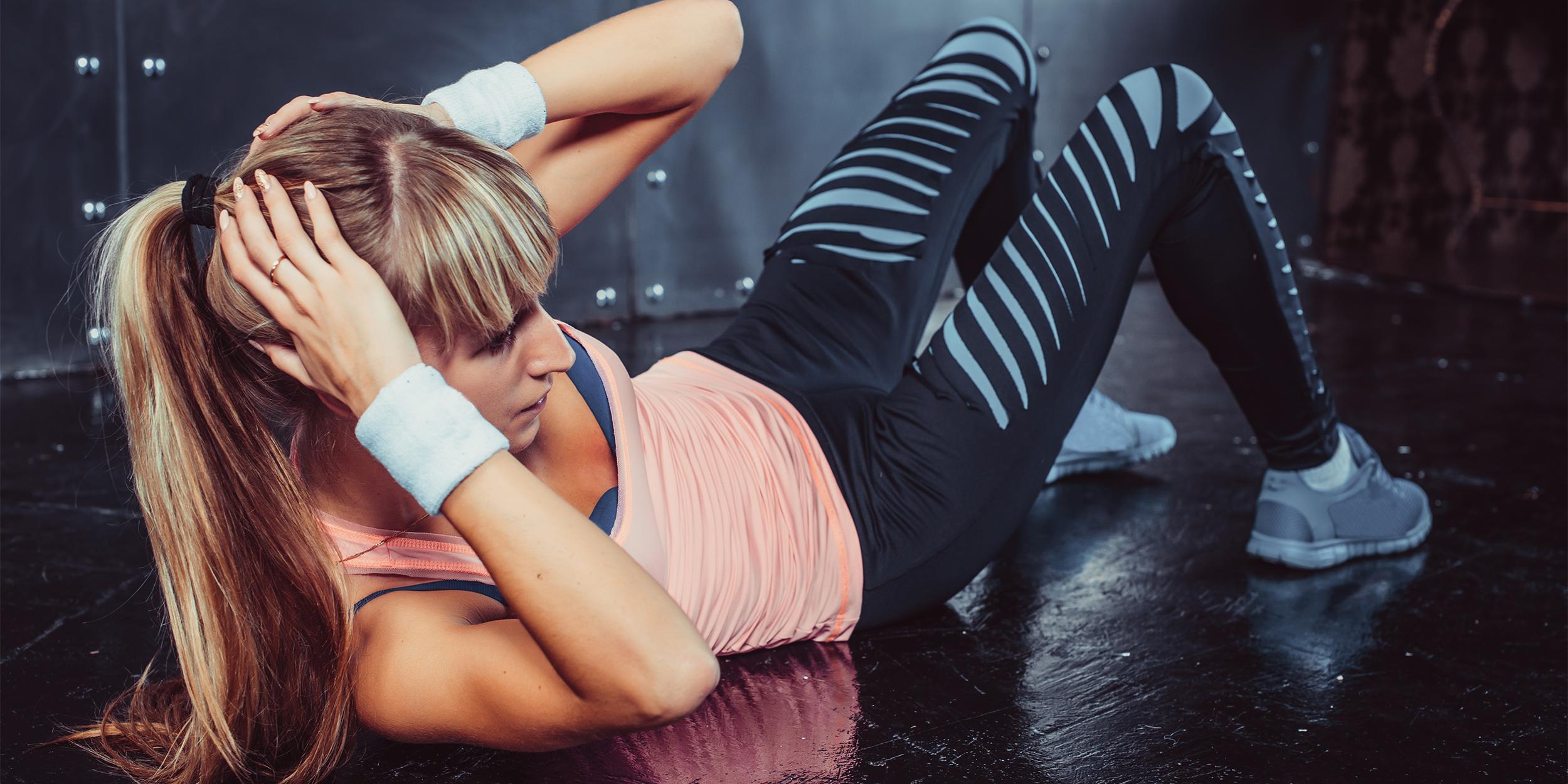 7 простых и эффективных упражнений для пресса