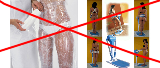 Корсеты, пояса, термобелье, обертывание себя чем-то и подобная хрень – не нужны