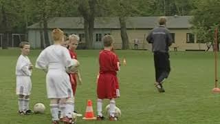 Упражнения для футболистов 7 - 9 лет