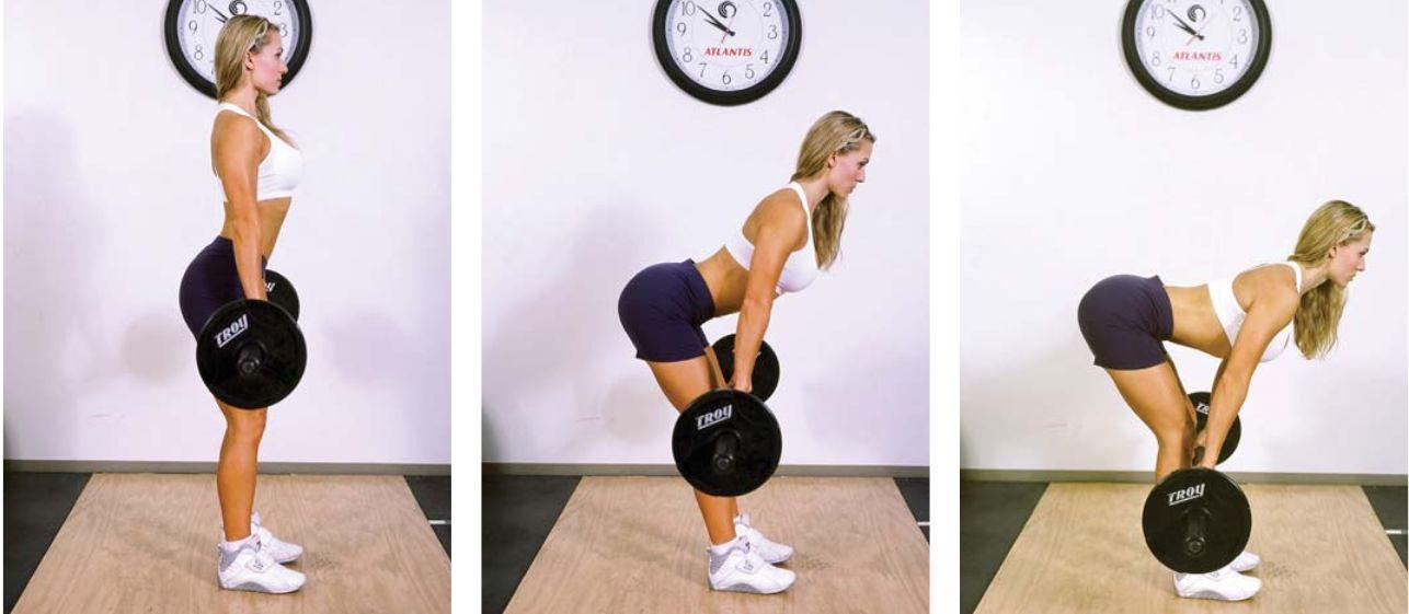 Становая тяга девушка