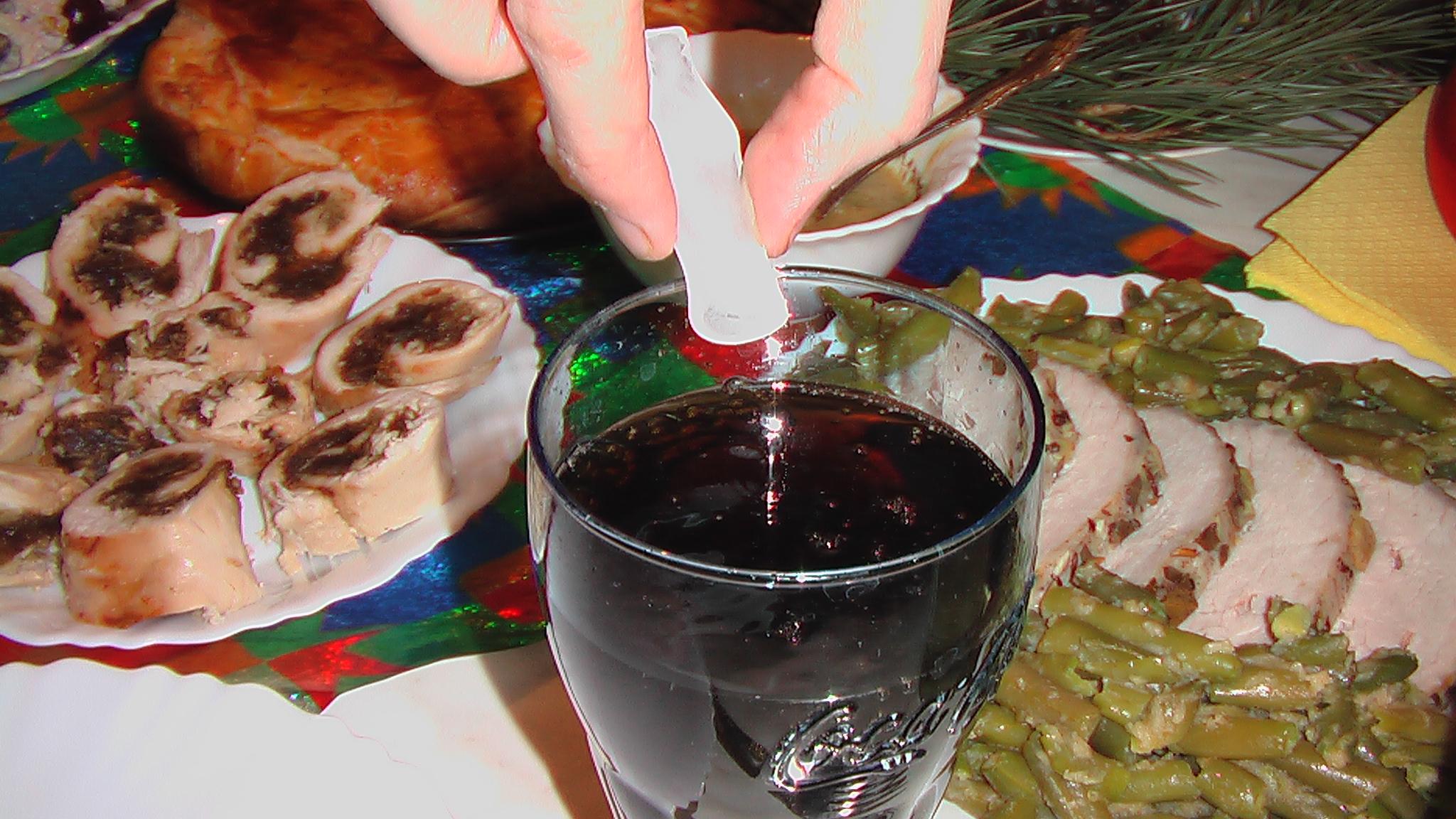 Энергетический напиток с кока-колой