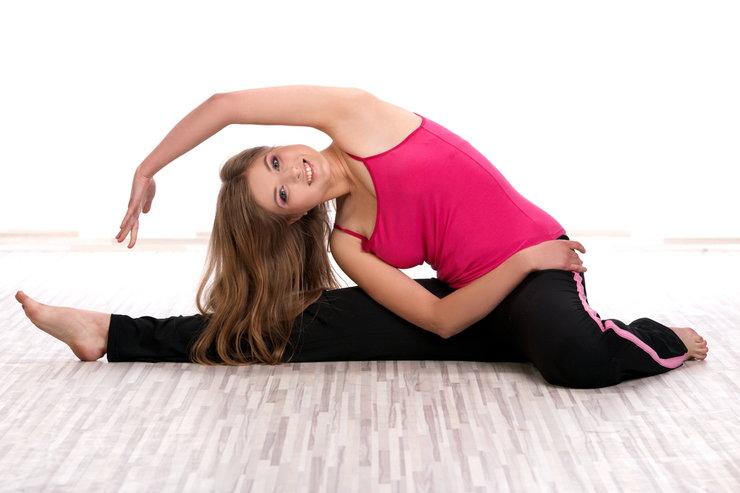 Стретчинг-упражнения - пресс