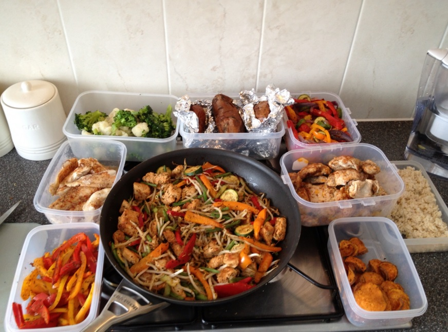 Правильная еда после спортзала