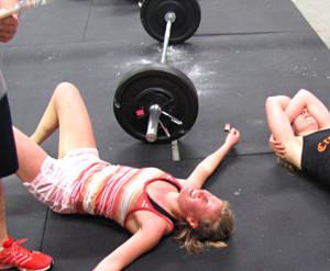 Самочувствие во время тренировок