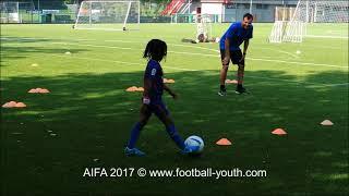 Футбол для детей Футбольные тренировки для детей видео
