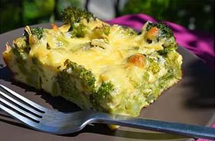 диета для треугольников меню, картофельная запеканка с кабачком и брокколи