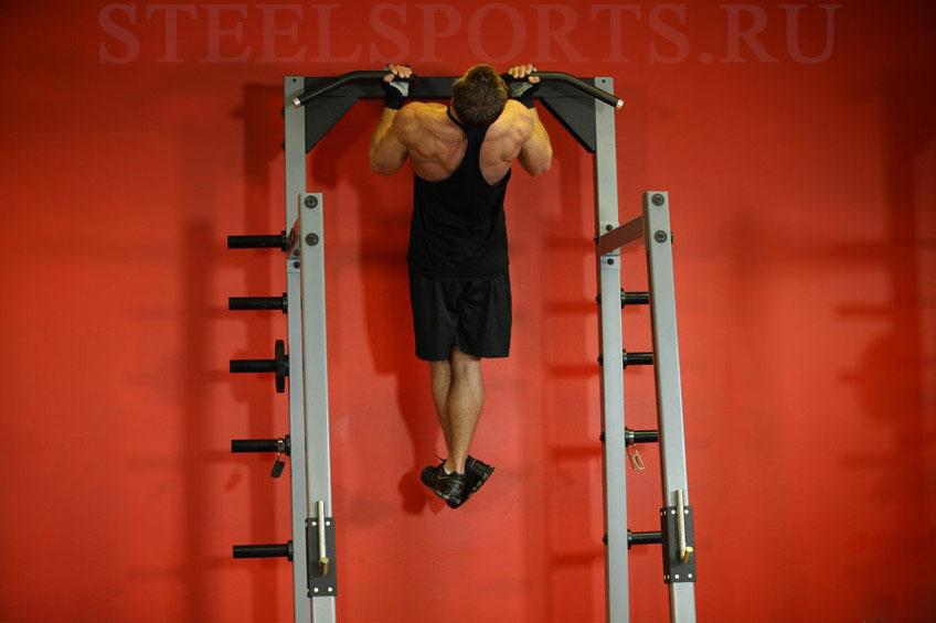 Подтягивания обратным хватом для мышц спины