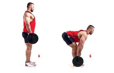 9. Не возлагайте больших надежд на становую тягу на прямых ногах