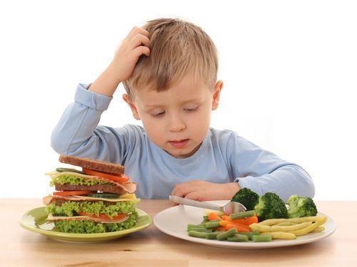 Принципы диеты для ребенка