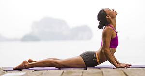 Кобра упражнение для спины